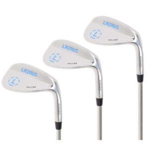 LAZRUS Premium Forged Golf Wedge Set for Men