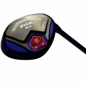 Japan WaZaki Black Oil Finish WL-IIs 4-SW Mx Steel Hybrid Irons Golf Club Set with Headcover