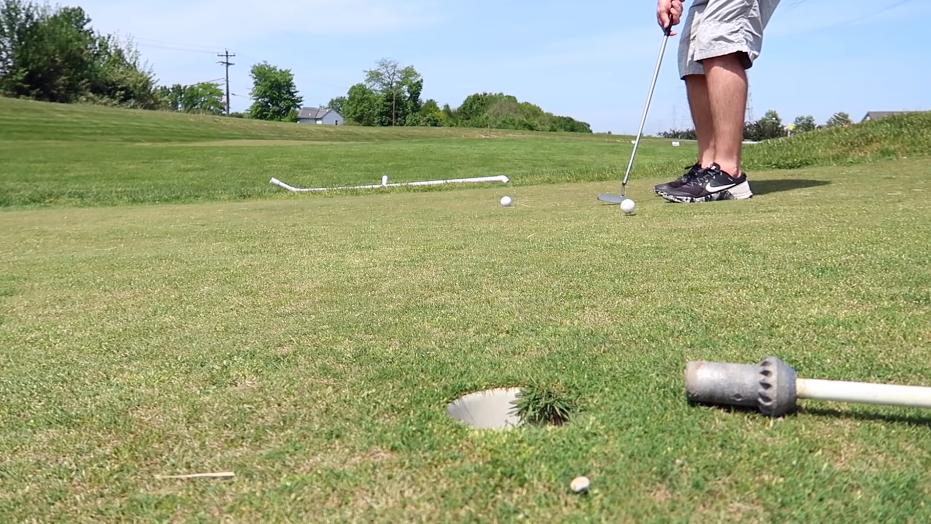 Compress The Golf Ball