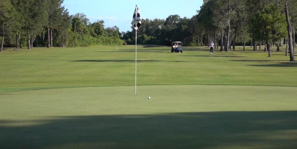 Backspin On A Golf Ball