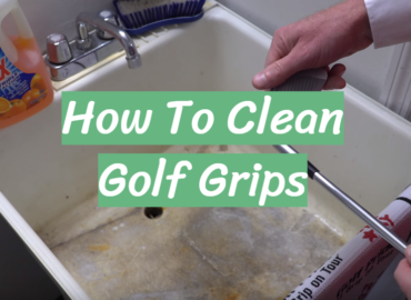 How To Clean Golf Grips Guide
