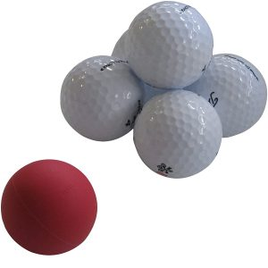 Eyeline Golf Weighted Ball Of Steel Putting Training Aid