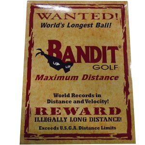 Bandit Non Conforming Illegal Maximum Distance Golf Balls