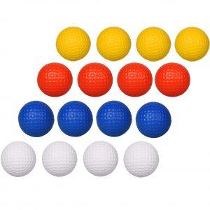 Adwikoso 24 Pcs Practice Golf Balls Foam Soft Elastic Golf Balls